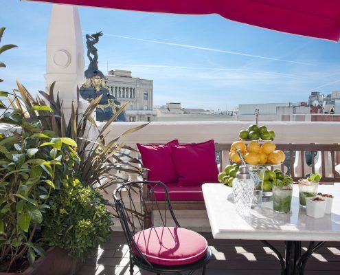 Tapiceria exterior The Principal Madrid Hotel
