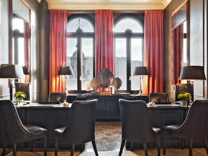 Cortinas contract The Principal Madrid Hotel - Zonas comunes