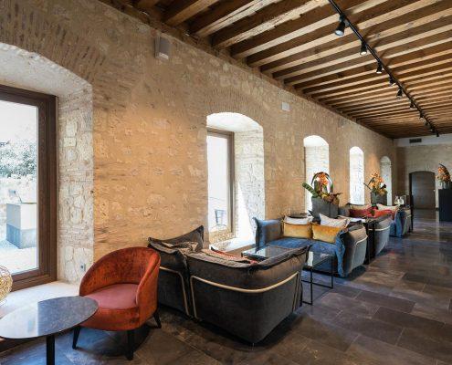 Suministro textil zonas comunes Convento Capuchinos