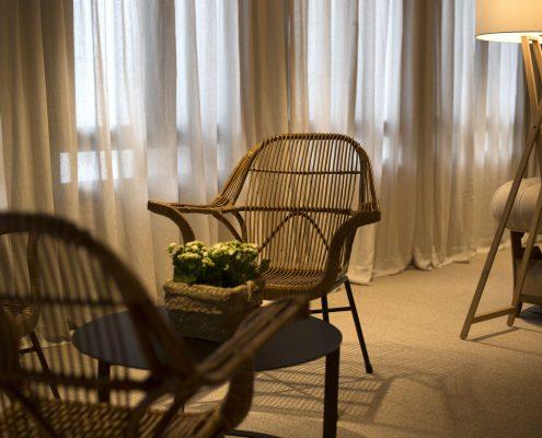 Detalle cortina hotel