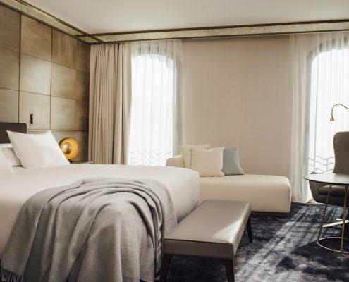 Cortinas domotizadas Hotel Almanac Barcelona