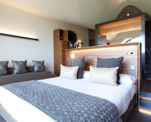 Cojines y tapiceria para hoteles