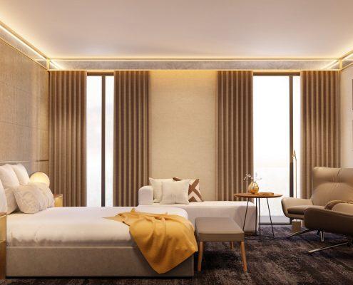 Hotel Almanac Barcelona - Habitación