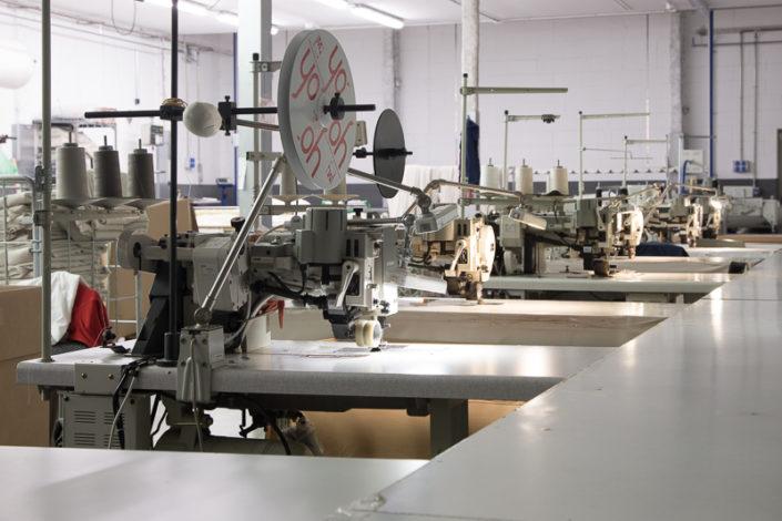 Maquinas coser fabricación cortinas hoteles