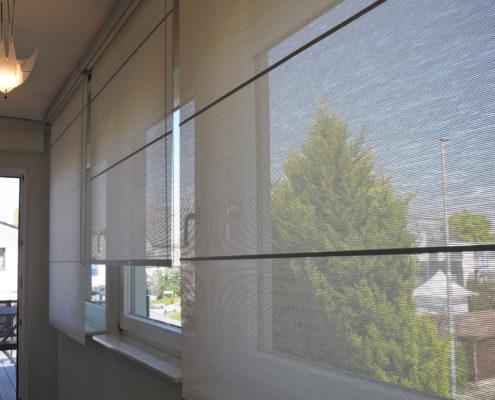 cortina enrollable tecnica