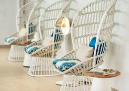 asientos tapizados