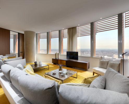 cortinas y cojines suite