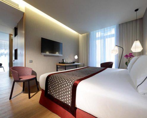 Hotel Eurostars Porto Centro- Habitación