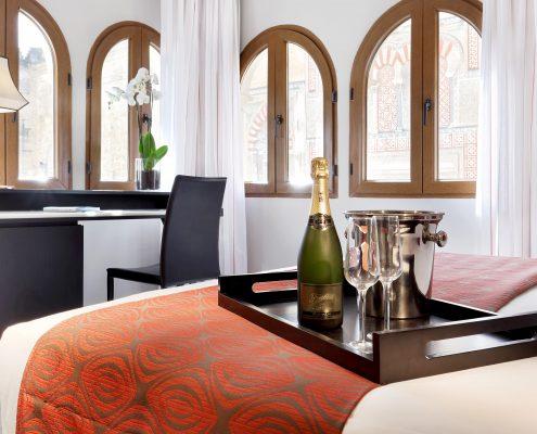 Plaid de cama Hotel Conquistador