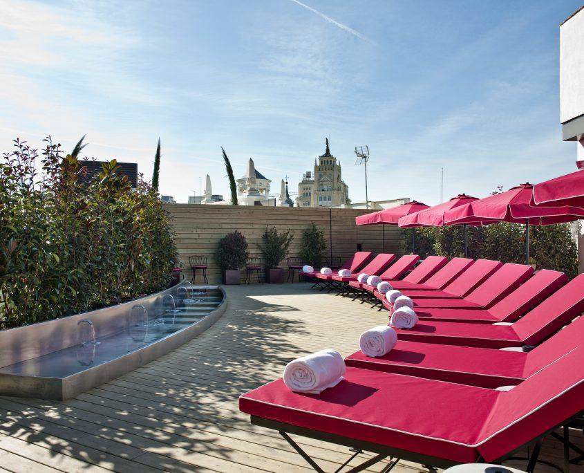 Tapiceria outdoor teraza hotel