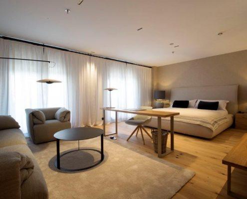 Cabezal Hotel habitacion Suite