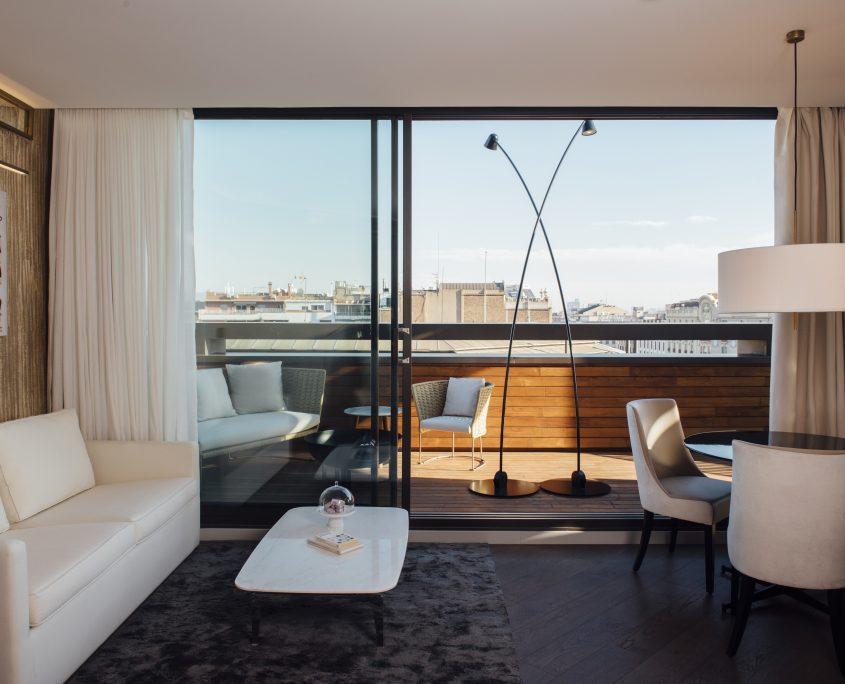 Cortinas ignifugas Hotel Almanac Barcelona