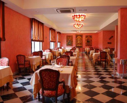 Manteleria hotel La Caminera