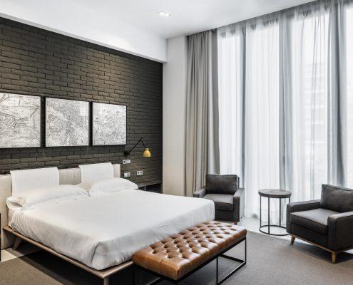 Decoración textil hotelera